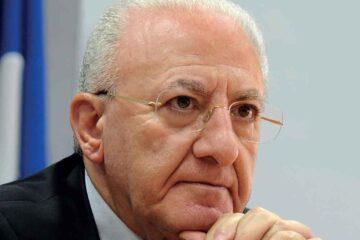 Covid: De Luca descrive così la situazione in Campania