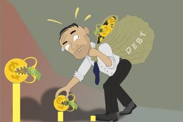 Accettazione eredità con beneficio d'inventario e pagamento debiti