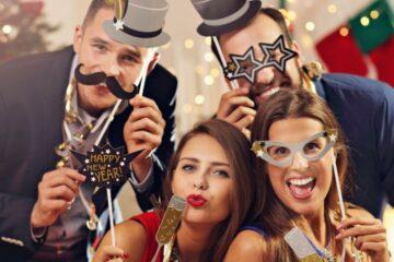 Capodanno: quanti amici posso invitare a casa