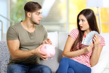 Come si deve dividere lo stipendio?