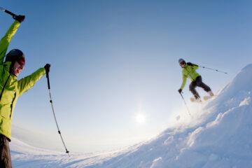 Scontro tra sciatori: chi ha ragione?