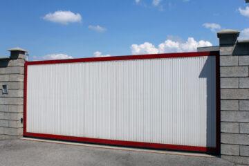 Il cancello automatico del condominio
