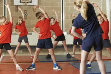 Infortunio nell'ora di educazione fisica