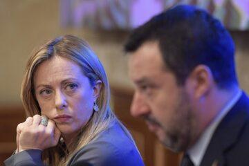 Meloni è sola: Salvini non vuole più il voto