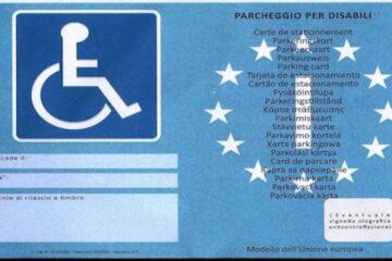 Falsificazione contrassegno disabili