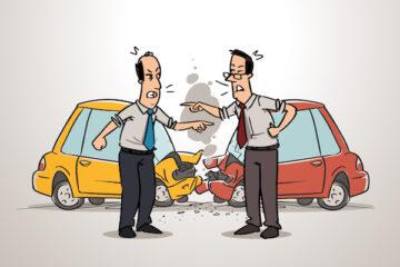Quali danni in caso di incidente stradale?
