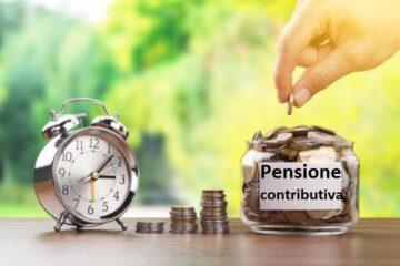 Pensione contributiva: le ultime novità