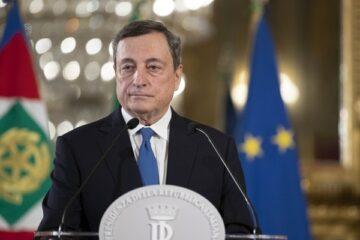 Draghi: non c'è una data sulle riaperture