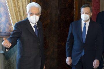Il Governo che vuole Draghi per avere la fiducia