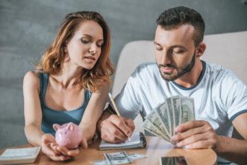 Come si dividono i soldi sul conto in caso di separazione?
