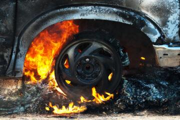 Danni all'auto da incendio