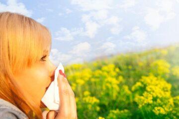Allarme pollini: possono aumentare i casi di Covid
