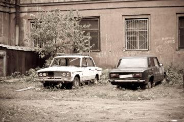 Auto senza assicurazione in area privata