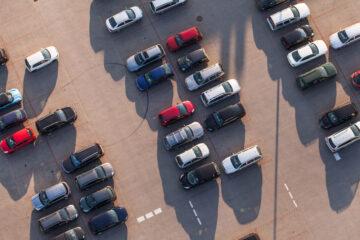 Incidente in parcheggio privato custodito