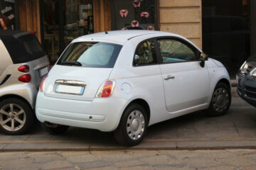 Auto senza assicurazione parcheggiata: sanzioni