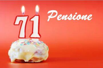 Chi deve andare in pensione a 71 anni?