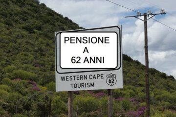 Pensione anticipata a 62 anni