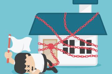 Come disfarsi di un immobile per non pagare le spese