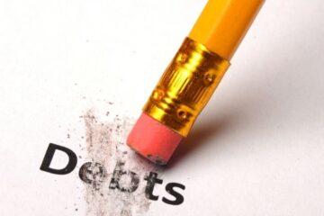 Si può azzerare un debito senza avere nulla?