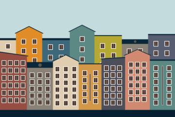 Calcolo della distanza tra edifici con finestre e balconi